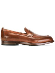 Officine Creative 'Ivy' Loafers Brown