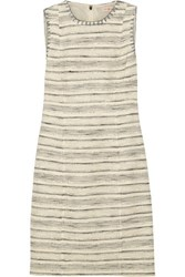 Tory Burch Nicole Tweed Dress Ivory