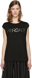Versace Black Muscle T Shirt