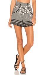 Ale By Alessandra Daniela Shorts Black And White