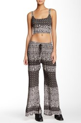 Band Of Gypsies Printed Palazzo Pant Multi