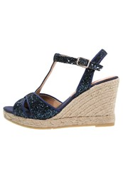 Kanna High Heeled Sandals Marino Dark Blue