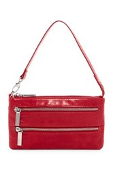 Hobo Cristel Convertible Leather Crossbody Red