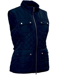 Abacus Holmen Quilted Gilet Navy