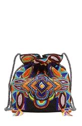 Antik Batik Embellished Shoulder Bag