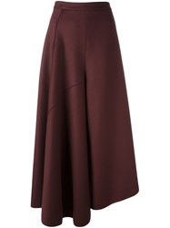 Ports 1961 Wide Legged Culotte Trousers Red