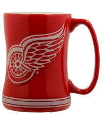 Boelter Brands Detroit Red Wings 15 Oz. Relief Mug Red White