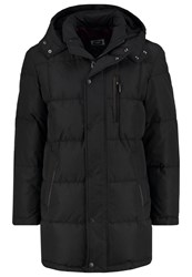 Bugatti Down Coat Schwarz Black