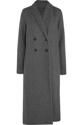 James Perse Cotton Fleece Coat Charcoal