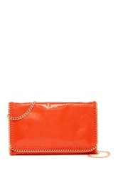 Urban Expressions Joy Foldover Clutch Orange