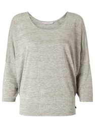 Numph Kria Blouse Light Grey Melange