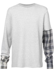 Mostly Heard Rarely Seen A New Angle Sweatshirt Grey