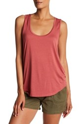 Paige Jessa Scoop Neck Tank Orange