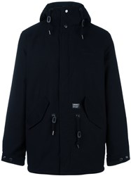 Carhartt Concealed Fastening Hooded Coat Black