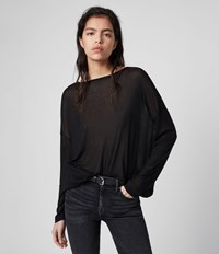 Allsaints Francesco Rita T Shirt Black