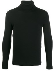 Transit Turtle Neck Jumper Black