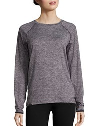 New Balance Heathered Athletic Tee Feather Heather