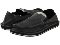 Sanuk Pick Pocket Charcoal Men's Slip On Shoes Gray