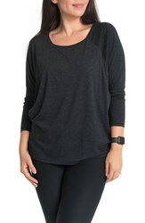 Bun Maternity Bliss Nursing Tee Black