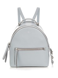 Fendi By The Way Mini Flowerland Embellished Backpack Light Blue