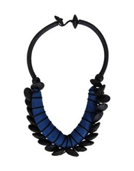Natalia Brilli Necklaces Dark Blue