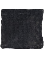 The Last Conspiracy Textured Zipped Pouch Black