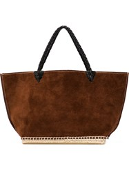 Altuzarra 'Espadrille' Tote Small Brown