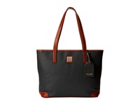 Dooney And Bourke Pebble Leather New Colors Charleston Shopper Dark Grey W Tan Trim Tote Handbags Gray