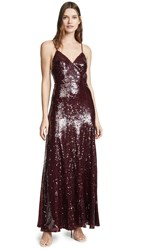 Fame And Partners The Madeleine Dress Wine