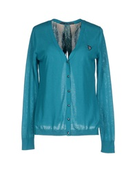 Guess Cardigans Emerald Green
