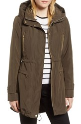 Gallery Hooded Parka With Faux Fur Liner British Khaki