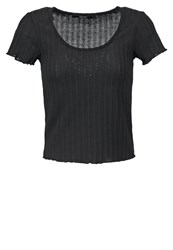 Bik Bok Belle Basic Tshirt Black