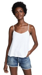 Nation Ltd. Ltd Carolina Cropped Swing Cami White