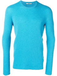 Nuur Ribbed Jumper Blue
