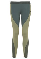 Adidas Performance Tights Green Oliv