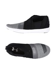 Under Armour Footwear Low Tops And Sneakers Grey