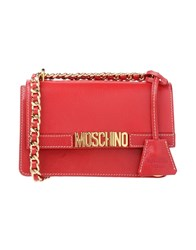 Moschino Handbags Red