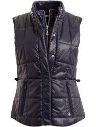 Green Lamb Jess Quilted Gilet Navy
