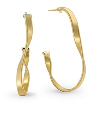 Marrakech Supreme 18K Twisted Hoop Earrings Marco Bicego