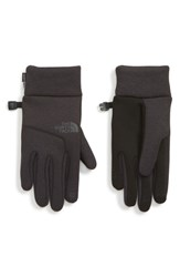 The North Face Etip Tm Hardface Tech Gloves Tnf Black Heather