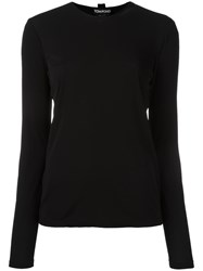 Tom Ford Long Sleeve T Shirt Black