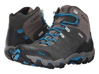 Oboz Bridger Bdry Shale Gray Hiking Boots