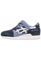 Asics Gellyte Iii Trainers Indian Ink White Dark Blue