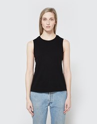 Re Done Muscle Tank In Black