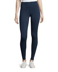 Koral Activewear Mystic Sport Leggings W Fold Over Waistband Navy Black