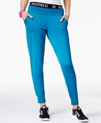Energie Active Juniors' Tapered Jogger Pants Ink Blue Caviar
