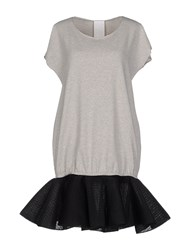 Luxury Fashion Dresses Short Dresses Women Grey