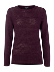 Pied A Terre Honeycomb Knit Purple
