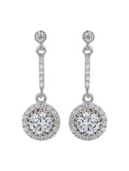 Mikey Sterling Silver 925 Drop Circle Earring N A N A