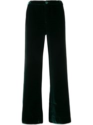 F.R.S For Restless Sleepers Wide Leg Trousers Green